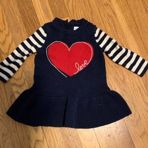 Baby Girl Gap Sweater Dress